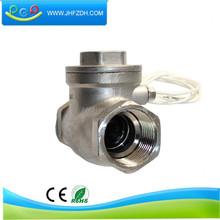 stable 316 stable chemical liquid flow control sensor