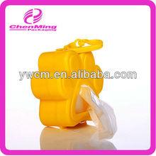 Yiwu custom yellow pet bag dispenser