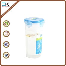 Eco-friendly recycling blue cover lable printing plastic water bottle