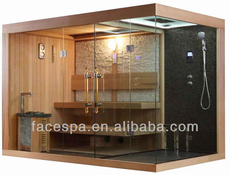 zuhause dampf sauna mit duschkabine fs 1404 f r modernes haus design. Black Bedroom Furniture Sets. Home Design Ideas