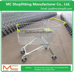 European Best Seller Supermarket Shopping Trolley , Wal-mart Shopping Cart