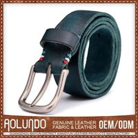 Hotsale Fashionable Design Leather Silver Belt Buckle Blanks