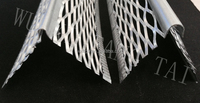 manufacturer price angle size 4.5mm,&2.5mm expanded metal mesh / corner bead/galvanized corner bead/building material