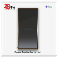 Black chromium whole plate solar thermal collector