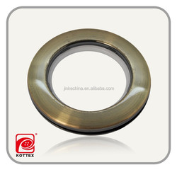 Colored large round polyester curtain ring ,curtain accessories/button window curtain