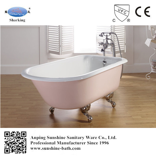 baby bath tub small freestanding pink color classical roll