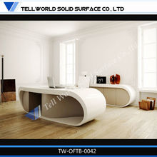 Custom made high quality marble top executive office desk office furniture from china