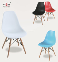 Colorful plastic dsw chair dining room furniture