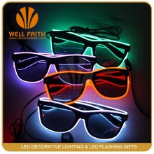 2015 Top Sale Products Party Decoration Flashing Led Sunglasses,EL Sunglasses