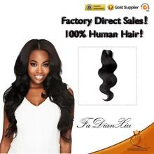100% Quantity guarantee unprocessed wholesale 6a grade virgin brazilian remy human hair