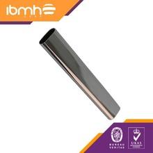 Wardrobe Tube Oval tubes, chrome D=30*15*0.6*3000MM