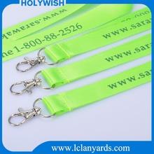 Custom decoration supply type lanyard for Christmas