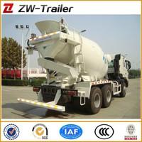 10cbm sino truck howo concrete mixer