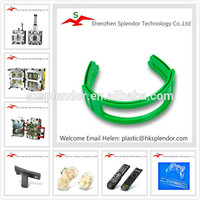 all kinds of customized plastic products in different colors