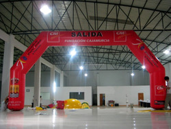 ad inflatable arch for outdoor