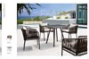 Havana 2015 new Garden synthetic wicker dining coffee furniture/Beach rattan Furniture