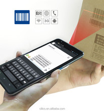 """Cilico 7"""" MTK 6582 Quad-core laser barcode and UHF RFID reader tablet pc with Andriod4.2.2,wifi,3G,BT,protective cover,Free SDK"""