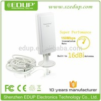 EDUP 150M outdoor wifi receiver high power wireless wifi usb adapter with rt3070 chipset KW-1507N
