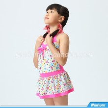 Hot Summer Adorable One Piece Dress Girl Swimwear
