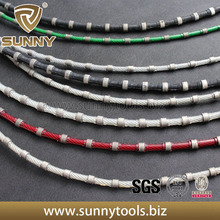 High efficiency 8.0mm Plastic Coated Used on Multi-Wire Machines Wire Saw Cutting