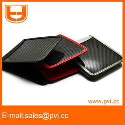 chic carbon fiber wallet to import from China wholesale with different leather