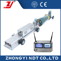 China NDT Micro-Wave Video X-ray Pipeline Inspection Crawler