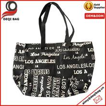 Los Angeles Fashion Tote Bag City Name Printing Nylon Souvenir Bag