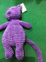 newly style plush toy long tail purple mouse custom stuffed toy