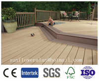water resistance wpc flooring. High quality, CE certificate, grooved deck board