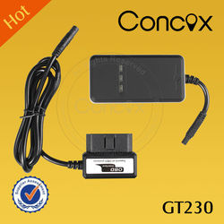 Concox New Smart OBD II Vehicle GPS GPRS Real-time Tracker GT230 with Displacement Alarm Track Playback Obd2 gps tracker