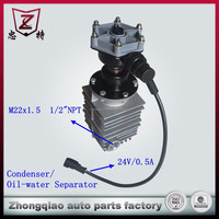 Bus Air conditioning condenser for kinglong bus spare parts