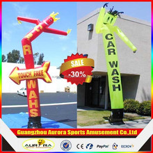 Lovely car wash inflatable air dancer for Guide advertising