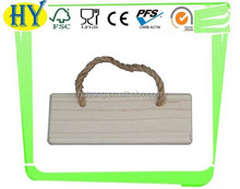 2015 china supplier wholesale unfinished wooden plaque