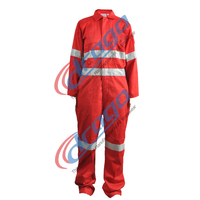 reflective safety coverall cotton fireproof coveralls