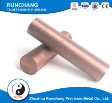 Copper And Copper Alloys Rods/Bars/Wires cu w alloy plate for electrode and contact