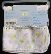 100% Cotton Baby infant Tender Muslin Baby Wipes Swaddle Blanket