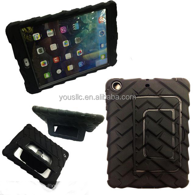 Tyre Hybrid Shockproof Silicone Case For Ipad 2 3 4