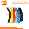 Different size spiral guard plastic protective coil
