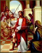 Prefessional Manufaturer 3D lenticular impresión religiosa pictures posters para el regalo
