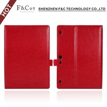 Protective Folio stand Leather Tablet case for Lenovo Tab 2