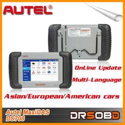 On Sale Original Autel maxidas ds708 Wifi Diagnostic and Update can Test 46 Cars