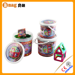 Top 62pcs Educational magblocks magformers magnetic Building Sets toys