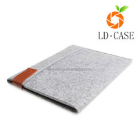 Cheapest factory price case cover felt sleeve carrying protector case bag for Ipad Pro