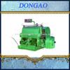 corrugated paperboard manual die cutting machine