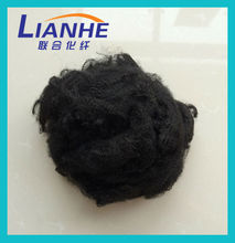 Hot Sale Seller of Recycled Black Polyester Staple Fiber for Carpet
