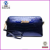 Best selling new style fashion patent leather Stone Pattern messenger bags