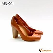 MK003p-1brown fashion girl party shoes women high heel dress shoes