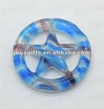 Fashion lampwork murano glass heart pendant