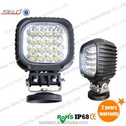 High Power Off Road Square 48W LED Working Lamp UTV HD43048X