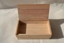 Wholsale small wooden boxes Plain Wooden Box